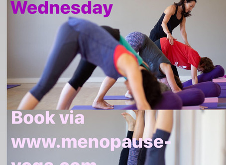 TWO Weekly Menopause Yoga Classes