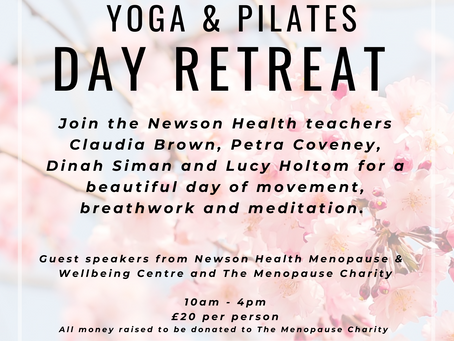 Fund-raising Day Retreat for The Menopause Charity