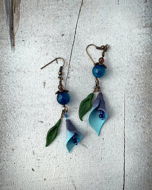 Calla Lilly Earrings #4