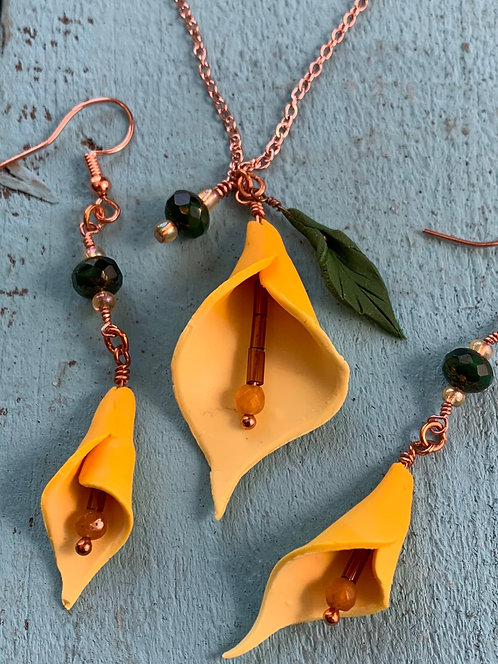 Calla Lilly Necklace #3