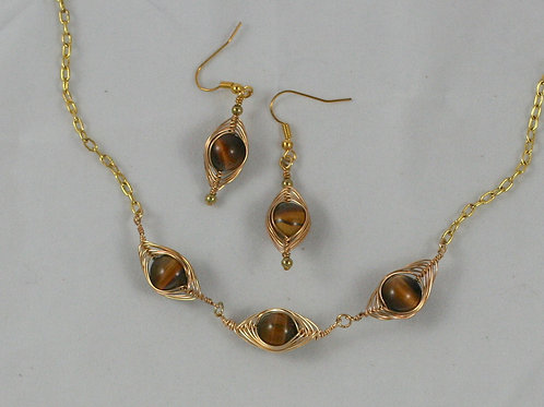 Dragon's Eye Necklaces or Earrings