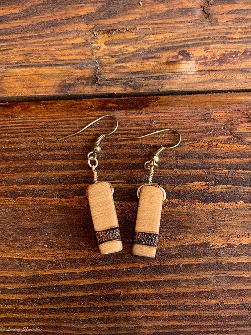 Pyro Stripe Earrings