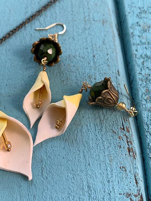 Calla Lilly Earrings #2