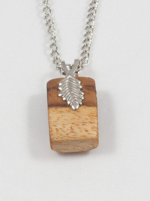 Leaf-bail Necklace: Monkeypod