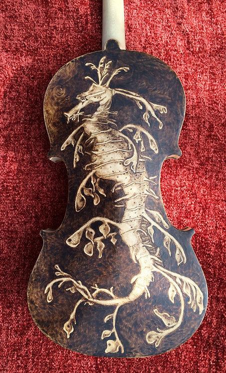 Leafy Seadragon Violin