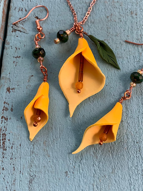 Calla Lilly Earrings #3