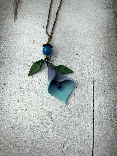 Calla Lilly Necklace #4