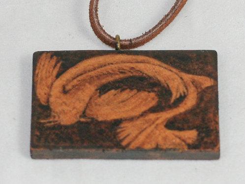 Pyrotiles Necklace: Koi