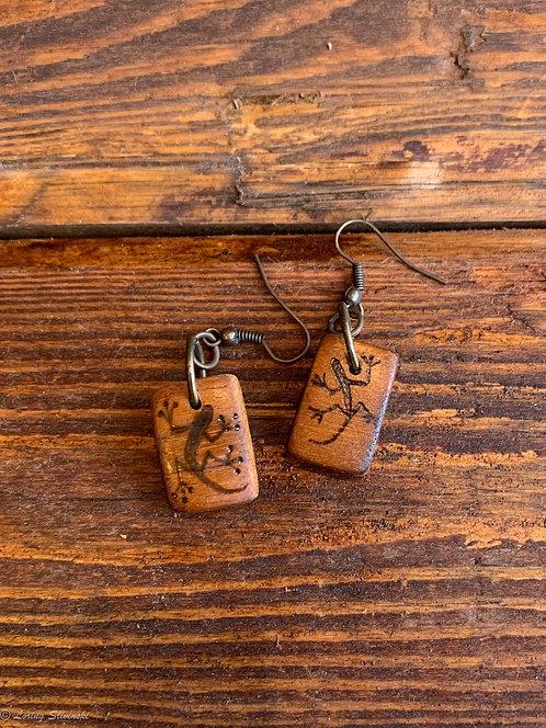 Pyrolizard Earrings