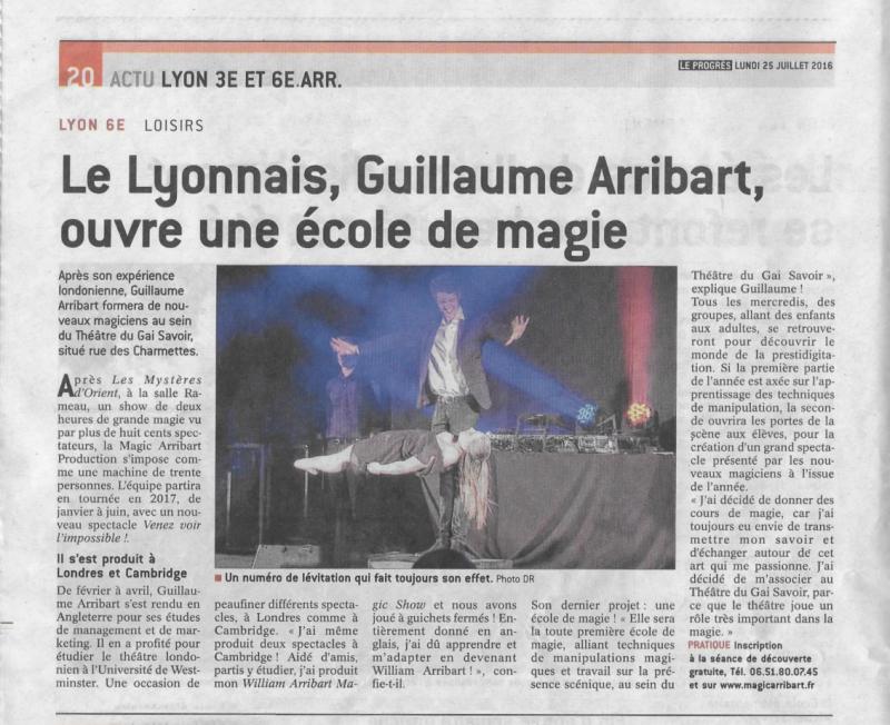École de Magie à Lyon