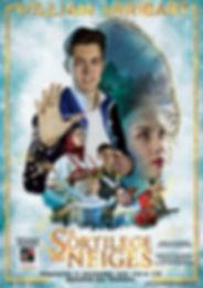 Affiche William Arribart et le Sortilège des Neiges spectacle magie comédie musicale Lyon