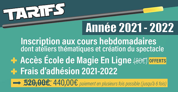 Tarifs-cours-de-magie-hebdomadaires-2021