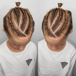 Man Braids 3 or 4 - Can Be Customise