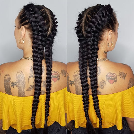 Black Synthetic Braiding Extensions