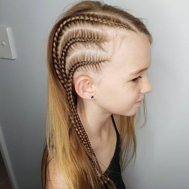 Kids 3x Braids