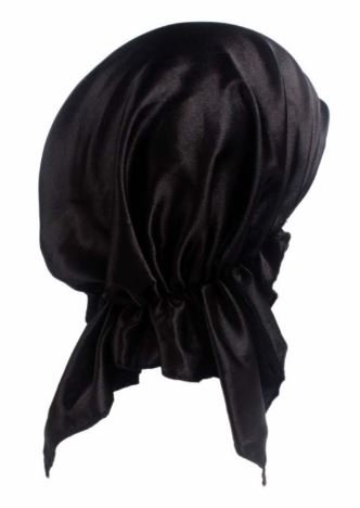 After Braid Care Head Wrap - Black