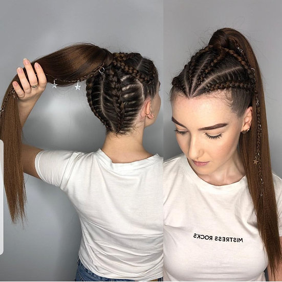 Chocolate Brown Braiding Extensions