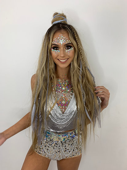 Clipin Dreads & Plaits - *SILVER EXAMPLE*