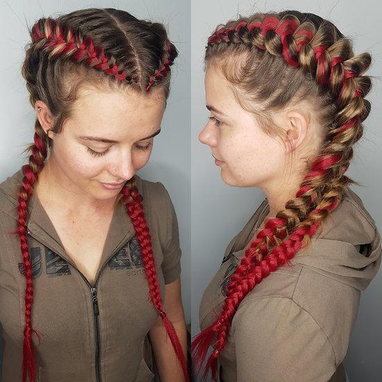 Cherry Braiding Hair