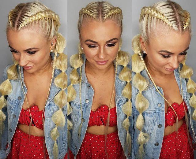 Platinum Blonde Braiding Extensions