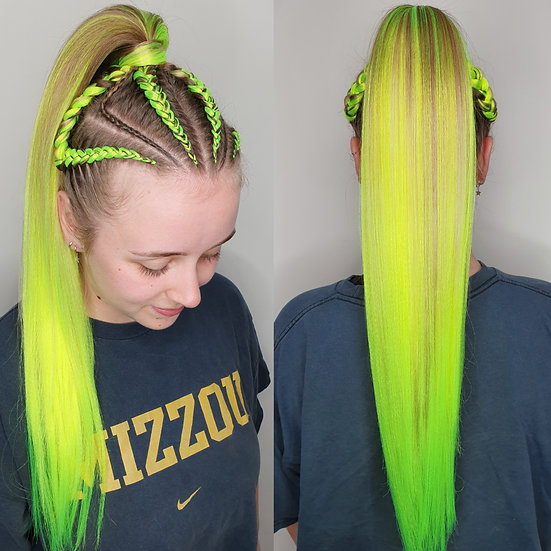 Tennis Ballin' Synthetic Braiding Extensions