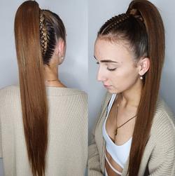 3-5 Braids - Ponytail Style