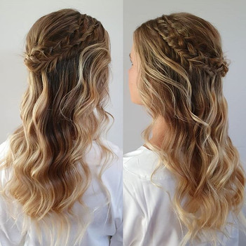 This hair reminds me of the princess off
