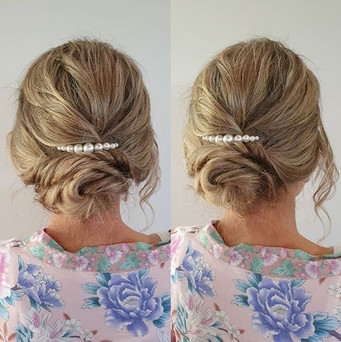 Mother of the bride _not so boring bun_