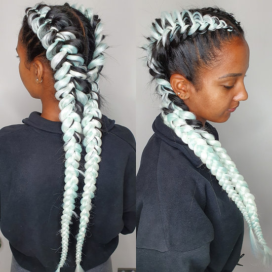 Mint Braiding Extensions