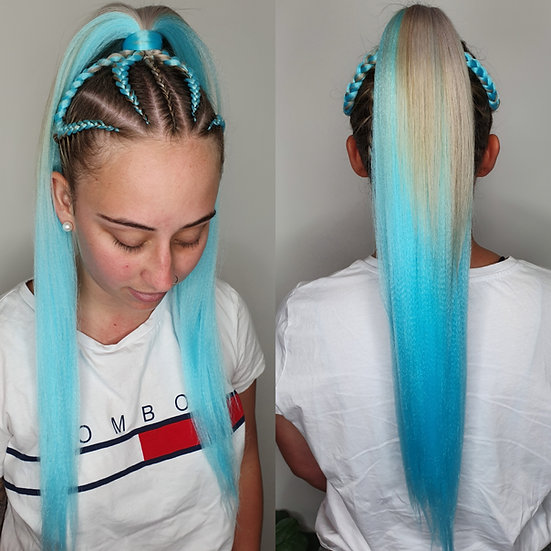 Baby Blues Braiding Extensions
