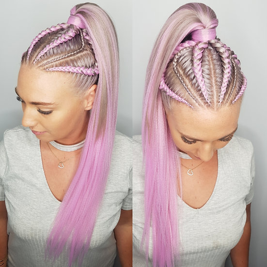 Lilac Braiding Extensions