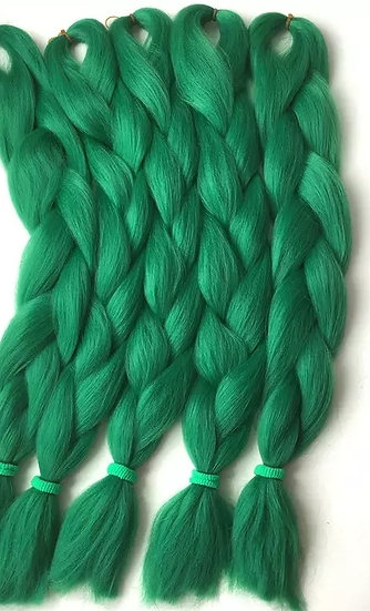 Forrest Green Braiding Extensions