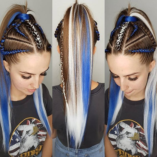 Strong Blue Braiding Extensions
