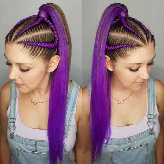 Purple Braiding Extensions