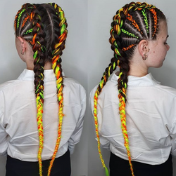 Mohawk Dutch Braids