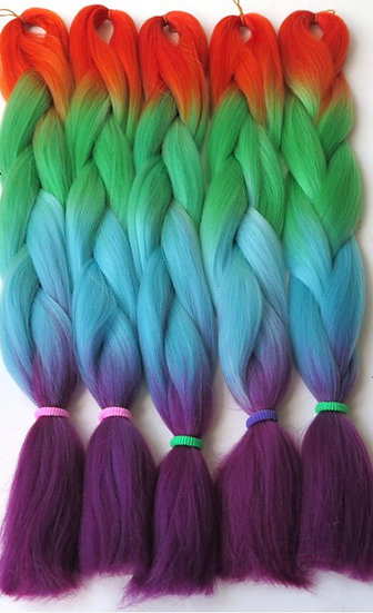 Peacock Ombre Braiding Extensions