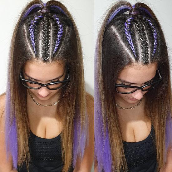 Light Purple Braiding Extensions