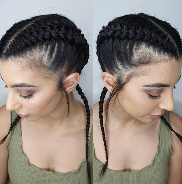 2x Boxer Braids Pulled Out