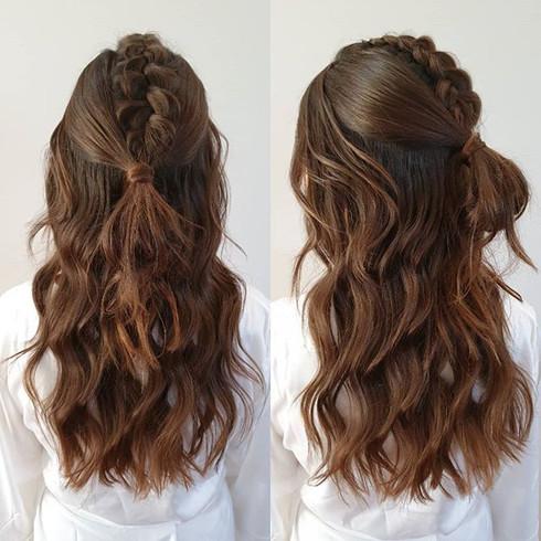 I just love this style! Sooooo P R E T T