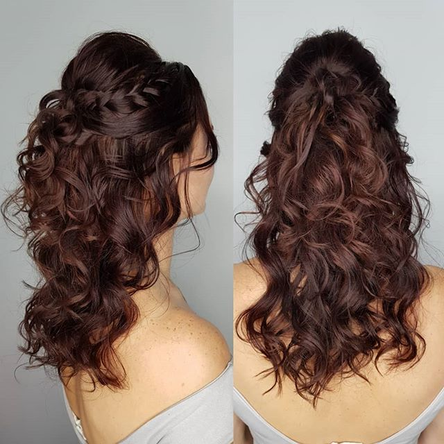 Updo's/Braids & Curls