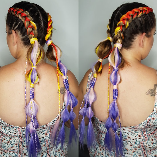 Sunset Blvd Ombre Braiding Extensions