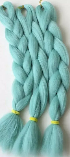 Pastel Blue Braiding Extensions