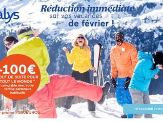100€ offerts pour vos vacances !