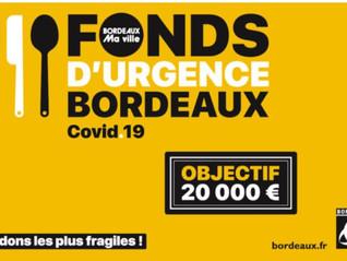 COVID 19 : FONDS D'URGENCE