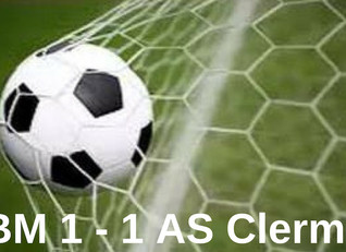 Match nul pour UBM Football
