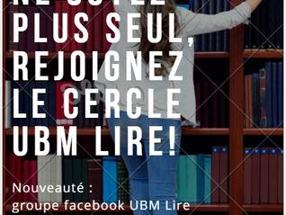 Des nouveautés avec UBM lire !
