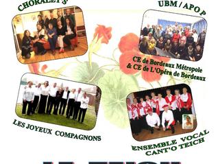 La chorale d'UBM-APOP chante en chœurs