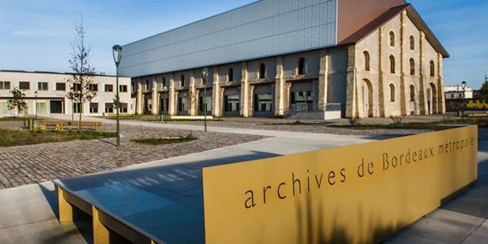 Balade culturelle : visite des archives