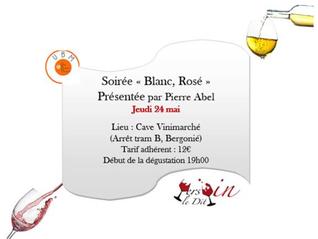 "Dégustation ""Blanc Rosé"""