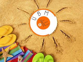 UBM : infos d'été !